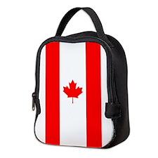 Canadian Flag Neoprene Lunch Bag