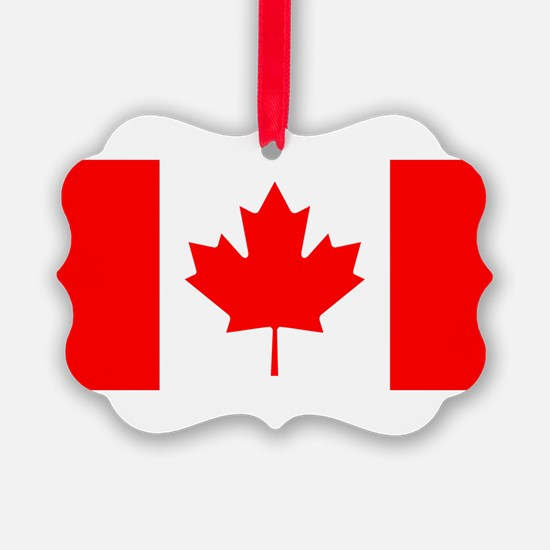 Canadian Flag Ornament