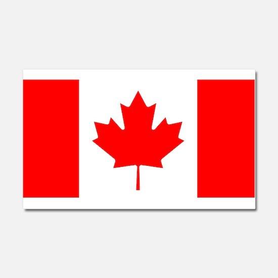Canadian Flag Car Magnet 20 x 12