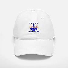 BLUE WIZARD Baseball Baseball Cap