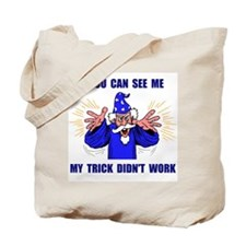 BLUE WIZARD Tote Bag