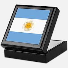 Argentinian Flag Keepsake Box