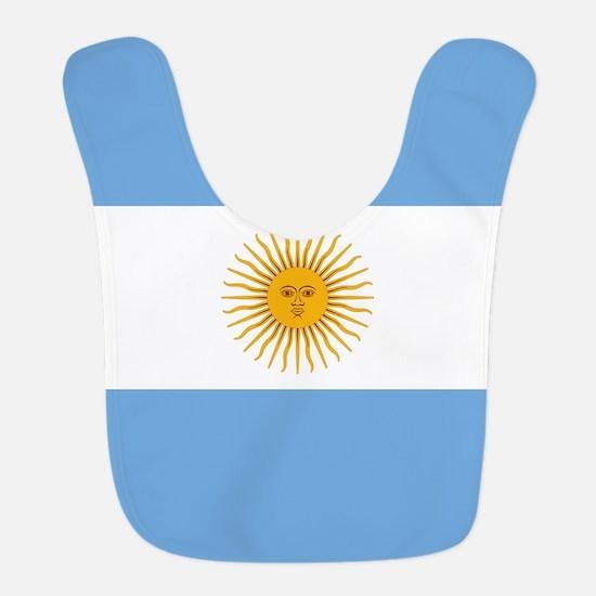 Argentinian Flag Bib