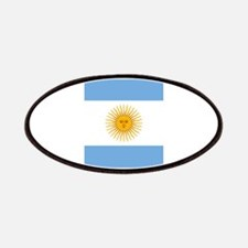 Argentinian Flag Patches