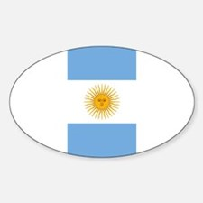 Argentinian Flag Decal