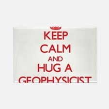 Keep Calm and Hug a Geophysicist Magnets
