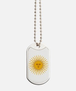 Argentinian Sun of May Dog Tags