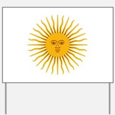 Argentinian Sun of May Yard Sign