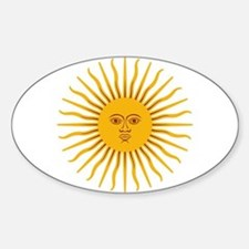 Argentinian Sun of May Decal