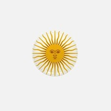 Argentinian Sun of May Mini Button (10 pack)