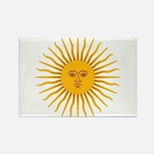 Argentinian Sun of May Magnets
