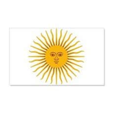 Argentinian Sun of May Wall Decal
