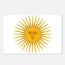Argentinian Sun of May Postcards (Package of 8)