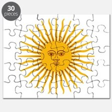 Argentinian Sun of May Puzzle