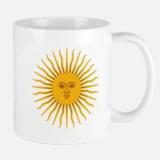 Argentinian Sun of May Mugs