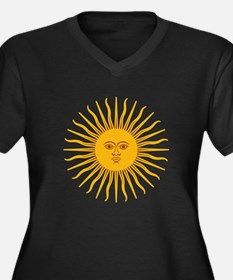 Argentinian Sun of May Plus Size T-Shirt