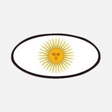Argentinian Sun of May Patches
