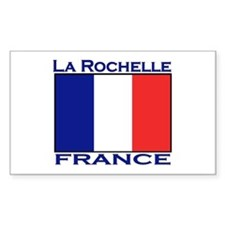La Rochelle, France Rectangle Decal
