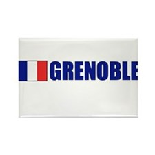 Grenoble, France Rectangle Magnet