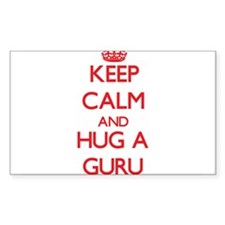Keep Calm and Hug a Guru Decal