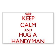 Keep Calm and Hug a Handyman Decal