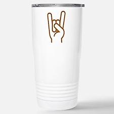 Metal Horns Travel Mug