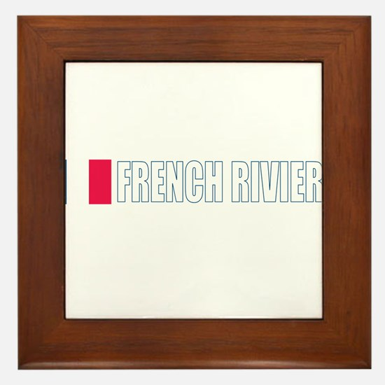 French Riviera Framed Tile