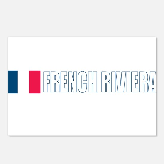 French Riviera Postcards (Package of 8)