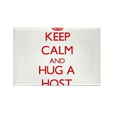 Keep Calm and Hug a Host Magnets