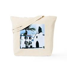 White Church Funchal Portugal Tote Bag
