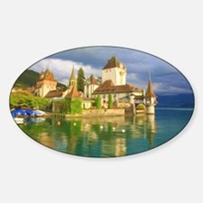 Beautiful castle Oberhofen on the T Decal