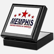 Memphis U.S.A. Keepsake Box