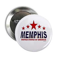 "Memphis U.S.A. 2.25"" Button (10 pack)"