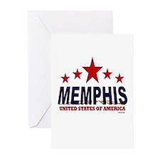 Memphis U.S.A. Greeting Cards (Pk of 20)