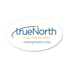 Truenorth Wellness Services Oval Oval Car Magnet