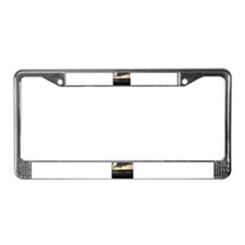 Seagulls Watching Sunset License Plate Frame