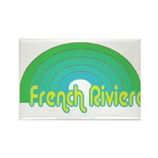 French Riviera Rectangle Magnet