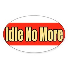 Idle No More Bumper Decal Decal