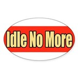 Idle no more Stickers
