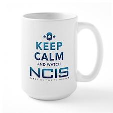 Keep Calm Watch NCIS Mug