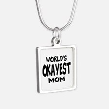 Worlds Okayest Mom Necklaces