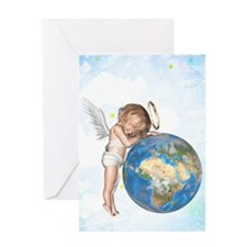 Guardian Angel Greeting Cards
