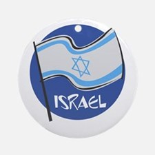 ISRAEL Ornament (Round)
