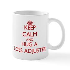 Keep Calm and Hug a Loss Adjuster Mugs