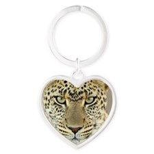 Cheetah Behind Glass Keychains