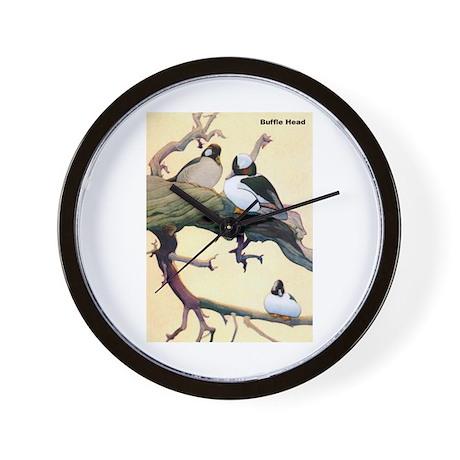 Bufflehead Duck Bird Wall Clock