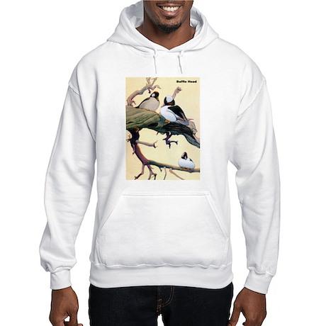 Bufflehead Duck Bird Hooded Sweatshirt