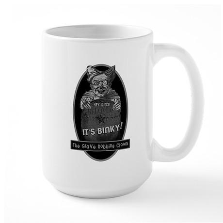 Binky the Clown Large Mug