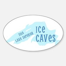 Lake Superior Ice Caves Decal