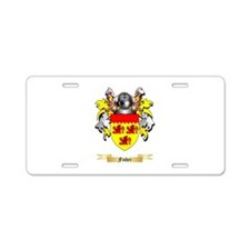 Fisher Aluminum License Plate